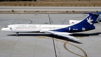 OM-AAA - Tupolev Tu-154M - Slovak Airlines