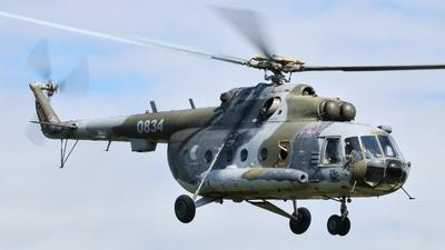 0834 - Mil Mi-17 Hip - Czech Republic - Air Force