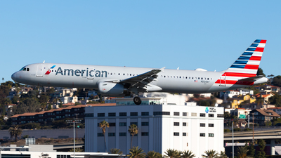 A picture of N509AY - Airbus A321231 - American Airlines - © Brandon Ravelo