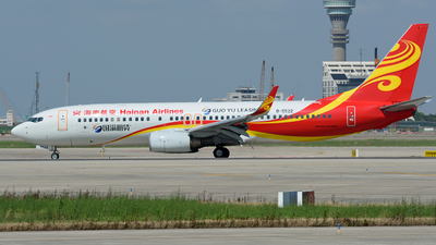 B-5522 - Boeing 737-84P - Hainan Airlines