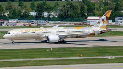 A6-BNC - Boeing 787-9 Dreamliner - Etihad Airways