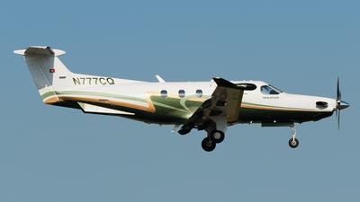 N777CQ - Pilatus PC-12/47 - Private