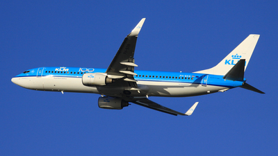 A picture of PHBXN - Boeing 7378K2 - KLM - © Michael Eaton