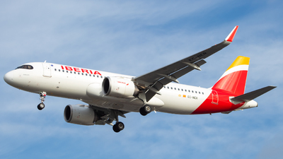 A picture of ECNER - Airbus A320251N - Iberia - © Jack Parker