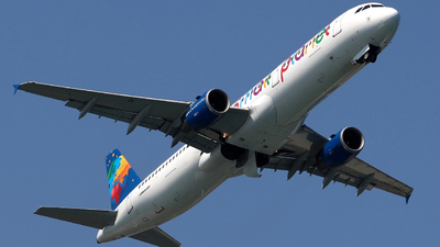 SP-HAY - Airbus A321-211 - Small Planet Airlines Polska
