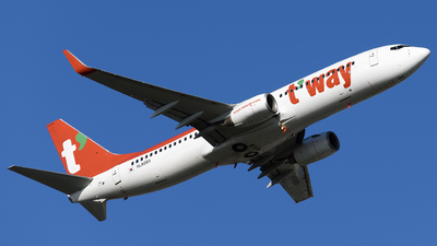 HL8069 - Boeing 737-8AS - T'Way Air