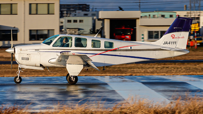 JA4111 - Beechcraft A36 Bonanza - Private