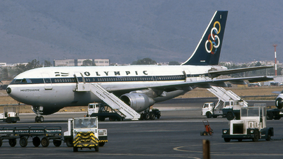 SX-BEI - Airbus A300B4-103 - Olympic Airways