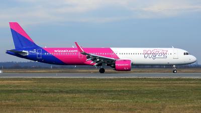HA-LVM - Airbus A321-271NX - Wizz Air