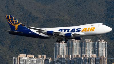 N493MC - Boeing 747-47UF(SCD) - Atlas Air