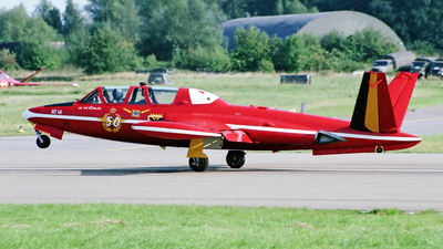 MT-48 - Fouga CM-170R Magister - Belgium - Air Force