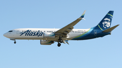 N586AS - Boeing 737-890 - Alaska Airlines