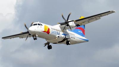 A picture of HK5104 - ATR 42500 - Satena - © Camilo Andres Rodriguez Torres