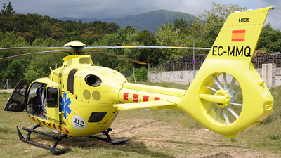 A picture of ECMMQ - Airbus Helicopter EC135 T3 - [1227] - © Xevi