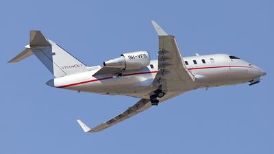 9H-VFG - Bombardier CL-600-2B16 Challenger 605 - VistaJet