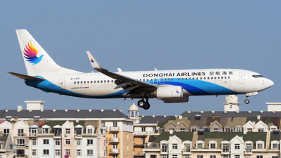 A picture of B1415 - Boeing 73783Z - Donghai Airlines - © sunshy0621