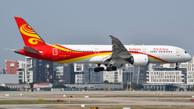 A picture of B1345 - Boeing 7879 Dreamliner - Hainan Airlines - © ZhangYang