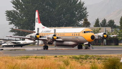 C-FLJO - Lockheed L-188C Electra - Air Spray