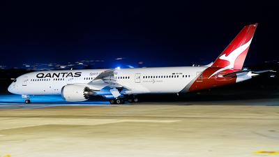 A picture of VHZNC - Boeing 7879 Dreamliner - Qantas - © Daniel Kotronis