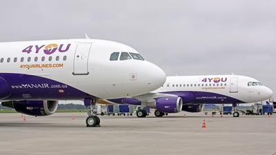 UR-CME - Airbus A320-212 - YanAir