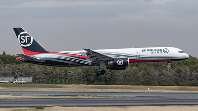 A picture of B2817 - Boeing 75721B(PCF) - SF Airlines - © KINCHAN