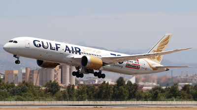 A picture of A9CFF - Boeing 7879 Dreamliner - Gulf Air - © Jero Vida