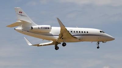 C-FVMW - Dassault Falcon 2000LX - Private