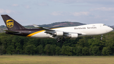 A picture of N581UP - Boeing 7474R7(F) - UPS - © Oliver Sänger