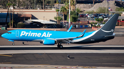 N5113A - Boeing 737-83N(BCF) - Amazon Prime Air (Southern Air)