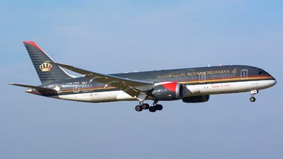 JY-BAB - Boeing 787-8 Dreamliner - Royal Jordanian