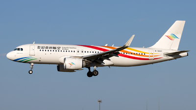 A picture of B30DY - Airbus A320251N - Colorful GuiZhou Airlines - © Danny Yu