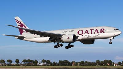 A picture of A7BFS - Boeing 777F - Qatar Airways - © Kris Van Craenenbroeck