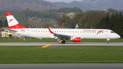 OE-LWI - Embraer 190-200LR - Austrian Airlines
