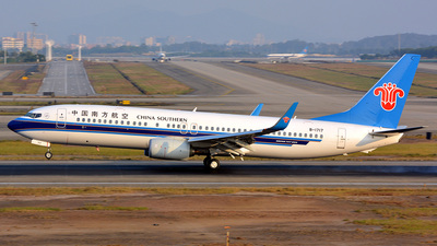 B-1717 - Boeing 737-81B - China Southern Airlines