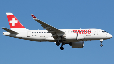 A picture of HBJBI - Airbus A220100 - Swiss - © BennyH
