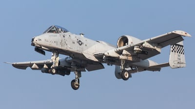 79-0134 - Fairchild A-10C Thunderbolt II - United States - US Air Force (USAF)