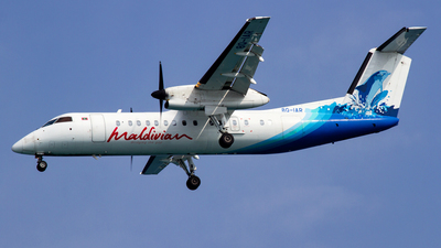 8Q-IAR - Bombardier Dash 8-Q314 - Maldivian