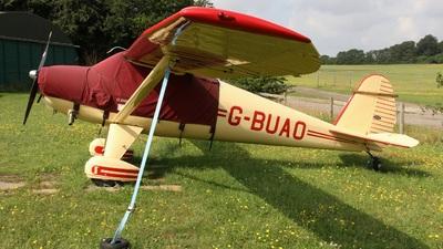 G-BUAO - Luscombe 8E Silvaire Deluxe - Private