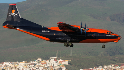 UR-CKM - Antonov An-12B - Cavok Air