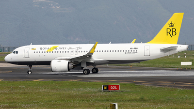 V8-RBB - Airbus A320-251N - Royal Brunei Airlines