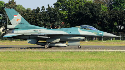 TS-1637 - Lockheed Martin F-16C Fighting Falcon - Indonesia - Air Force
