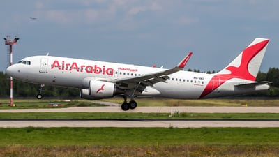 A6-ANZ - Airbus A320-214 - Air Arabia