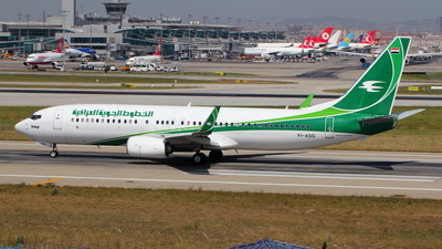 YI-ASG - Boeing 737-81Z - Iraqi Airways