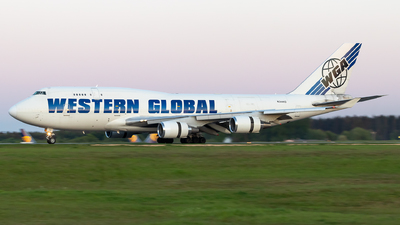 N344KD - Boeing 747-446(BCF) - Western Global Airlines