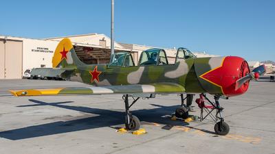 N52EX - Yakovlev Yak-52 - Private