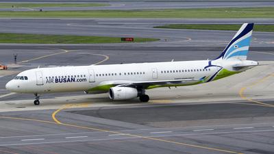 HL7722 - Airbus A321-231 - Air Busan