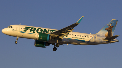 A picture of N370FR - Airbus A320251N - Frontier Airlines - © Chasen Richardson
