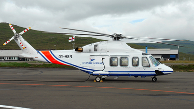 OY-HSN - Agusta-Westland AW-139 - Atlantic Airways