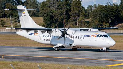 A picture of HK5313 - ATR 42600 - EasyFly - © Felipe Tamayo