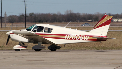 N7605W - Piper PA-28-180 Cherokee - Private